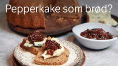 Myk pepperkake Gingerbread Cake, Cake Servings, Blue Cheese, Cheesecake, Food And Drink, Sweets, Stuffed Peppers, Baking, Breakfast