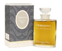 CHRISTIAN DIOR- Dioressence.  Launched in 1979.