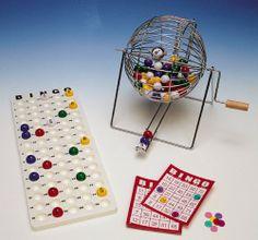 El juego físico del Bingo