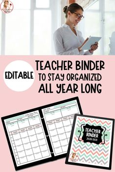 My Teacher Binder is a the perfect resource to keep all of your teaching materials organized and in one place for the entire school year. My resource is editable and includes updates for life when you purchase it! Included are lesson plan templates, rubrics, notes, classroom forms, and so much more!