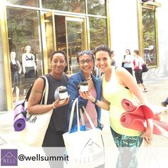 Repost from @wellsummit  One wellness weekend last November we all met. And now we plan & run into one another at various wellness events throughout the city. So grateful for our tribe.  Can't wait for our #NYC wellness weekend.  #TheWELLSummit #WELLSummitTribe