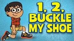 """One, Two, Buckle My Shoe"" is a fun nursery rhyme, action song for children. It's great for brain breaks, indoor recess, morning meeting, group activities and circle time. It also teaches early math, listening skills and following directions. Join us for more FREE videos at: http://www.youtube.com/user/thelearningstation"