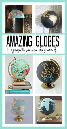 Crafts with Globes