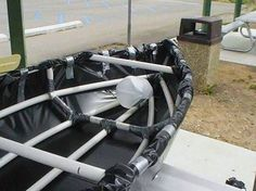 #Prepper - DIY Canoe from PVC Pipe, Duct Tape and Plastic