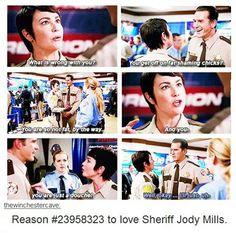 Reasons to love Sheriff Jody Mills 10x08 Hibbing 911