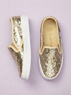 Sparkle! juicy couture baby shoes