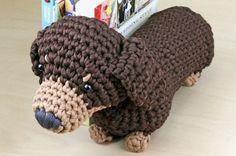 dachshund crochet pattern - Google Search