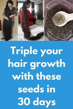 Triple your hair growth with these seeds in 30 days Today I will show one miracle hair growth remedy which chia seeds. Chia seeds contains of protein that helps our hair to grow faster. Copper and Zinc are important minerals which are found in chia se Hair Remedies For Growth, Hair Growth Tips, Skin Care Specialist, Hair Regrowth, Grow Hair, Hair Growing, Chia Seeds, Your Hair, Long Hair Styles