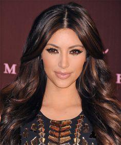 kardashian hairstyles   Kim Kardashian Hairstyle - Formal Long Wavy - 11511   TheHairStyler ...