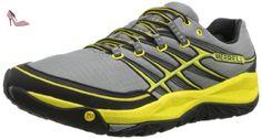 Merrell Allout Rush Wild Dove / Yellow, Grey, 50 - Chaussures merrell (*Partner-Link)