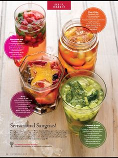 great summer sangria recipes