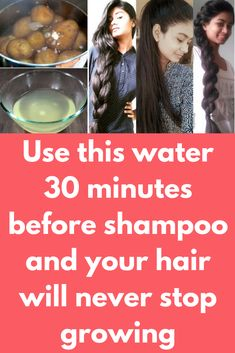 Use this water 30 minutes before shampoo and your hair will never stop growing Today I will share miracle hair growth treatment that will boost your hair growth. For this magical formula you need just 1 ingredient and that is potato What to do Take po Quick Hair Growth, Hair Mask For Growth, Hair Remedies For Growth, Hair Growth Treatment, Hair Growth Tips, Hair Care Tips, Extreme Hair Growth, Healthy Hair Growth, Help Hair Grow