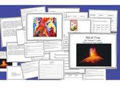Volcanoes! Hill of Fire Unit: Reading, Writing, and Art~ Special Education, Primary, ELL