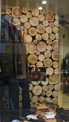 Risultati immagini per autumn winter display window