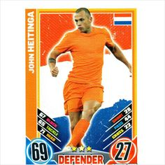 John Heitinga Holland defender Topps Match Attax trading card 92 Listing in the European,Football (Soccer),Sports Cards & Stickers,Sport Memorabilia & Cards Category on eBid United Kingdom Soccer Sports, Football Soccer, Soccer Cards, Baseball Cards, European Football, Online Marketplace, Trading Cards, Holland, United Kingdom