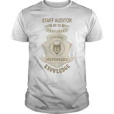 I Love STAFF AUDITOR We Do Precision Guess Work Shirts & Tees #tee #tshirt #Job #ZodiacTshirt #Profession #Career #auditor