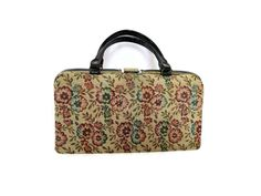 Hey, I found this really awesome Etsy listing at https://www.etsy.com/listing/226321110/floral-tapestry-purse-tapestry-handbag