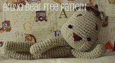 Baghi's blog: FREE AMIGURUMI PATTERN: Bruno Bear