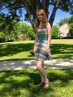 Dots N Bows: A Summertime Outfit #Blogger #Blogging #FBlogger #Summertime #OOTD #OutfitIdea #Dresses #Fashion