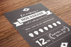 Will You Be my Bridesmaid Card | I'm Making a Hoe Parade Bridesmaid Card | Bridesmaid Gift | Be my Maid of Honor