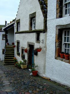 Culross, Firth of Forth, Fife, Scotland; where my good friend Robin lives!