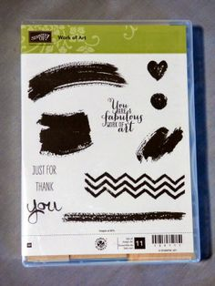 NEW Stamp Set Work of Art in the 2014-2015 Stampin' Up! catalog