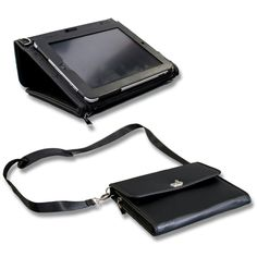 Professional iPad Briefcase  $60.00      Sleek, functional leather iPad case for professionals. Doesn't say for which iPad generations.