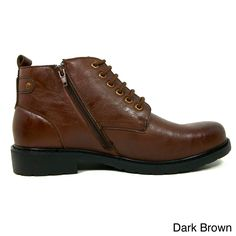 POLAR FOX Ferro Aldo Men's Ankle Height Oxford Dress Shoes