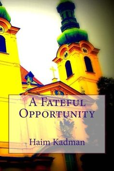 Gripping thrillers of past and current events and novels, which are absorbing read each one of them at: www.amazon.com/Haim-Kadman/e/B009Z7XL8C