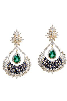 'Reviere' earrings by Farah Khan Fine Jewellery