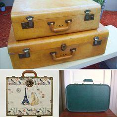 Vintage Suitcases & Trunks | Vintage Luggage Trunks