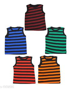 Innerwear Cute Cotton Kids Vest (Pack of 5) Fabric: Cotton Sleeves: Sleeves Are Not Included Size: Age Group (0 Months - 3 Months) - 10 in Age Group (3 Months - 6 Months) - 12 in Age Group (6 Months - 9 Months) - 12 in Age Group (9 Months - 12 Months) - 14 in Age Group (12 Months - 18 Months) - 16 in Age Group (18 Months - 24 Months) - 18 in Age Group (2 - 3 Years) - 20 in Age Group (3 - 4 Years) - 22 in Age Group (4 - 5 Years) - 24 in Type: Stitched Description: It Has 5 Pieces of Kids Vest Work: Printed Sizes Available: 0-3 Months, 0-6 Months, 3-6 Months, 6-9 Months, 6-12 Months, 9-12 Months, 12-18 Months, 18-24 Months, 0-1 Years, 1-2 Years, 2-3 Years, 3-4 Years, 4-5 Years, 5-6 Years *Proof of Safe Delivery! Click to know on Safety Standards of Delivery Partners- https://ltl.sh/y_nZrAV3  Catalog Rating: ★4.1 (4127)  Catalog Name: Kids' Vest Pack Of 5 CatalogID_167403 C59-SC1187 Code: 091-1309585-
