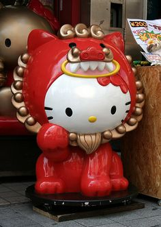 Hello Kitty Shisa!!!!