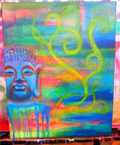 buddha painting by kristen smith :)