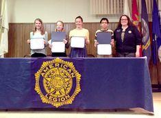 Snapshot: Students win prizes in American Legion Essay Contest | mySuburbanLife.com