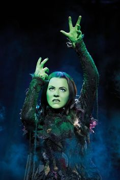 Elphaba, aka the Wicked Witch of the West (character from The Wizard of Oz and Wicked, potrayed in the picture by Rachel Tucker). Description from pinterest.com. I searched for this on bing.com/images