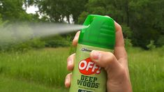 Bug spray.  It is by the water so the bugs can be bad.