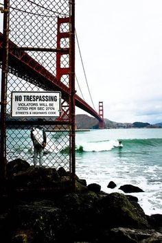 Golden Gate surf