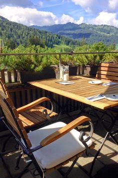 Hotel Hubertus Alpin Lodge & Spa - Balderschwang - Terrasse