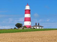 Happisburgh Lighthouse in Happisburgh on the North Norfolk coast is the only independently operated lighthouse in Great Britain. Description from snipview.com. I searched for this on bing.com/images
