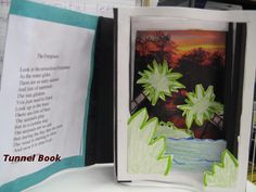 A tunnel book made by one of my fifth grade students about the Everglades.