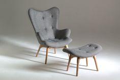 Grazia and Co Australian made authentic furniture, including original Featherson pieces - R160 Contour Armchair