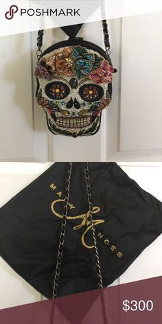 New Mary Frances day of dead purse handbag Brand new Mary Frances Bags Shoulder Bags