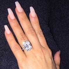 Kim Kardashian's 15-carat sparkler from Kanye West (engagement ring)