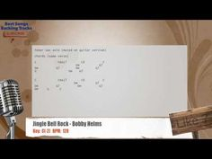 Jingle Bell Rock - Bobby Helms Vocal Backing Track with chords and lyrics