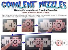 This webpage allows students to visually experience the moment when the atoms come together in a covalent bond.