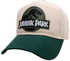 891ab4c6 Amazon.com: Project T Jurassic Park Green Movie Iron on Patch with Snapback  Cap