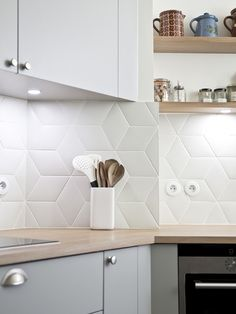 Like backsplash!