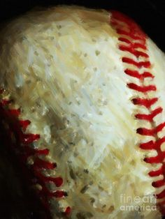 """""""All American Pastime"""" Painterly Photograph, wingsdomain art and photography."""
