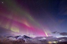 Auroras boreales desde Islandia. 27 de febrero de 2014 Crédito: Tryggvi Már Gunnarsson